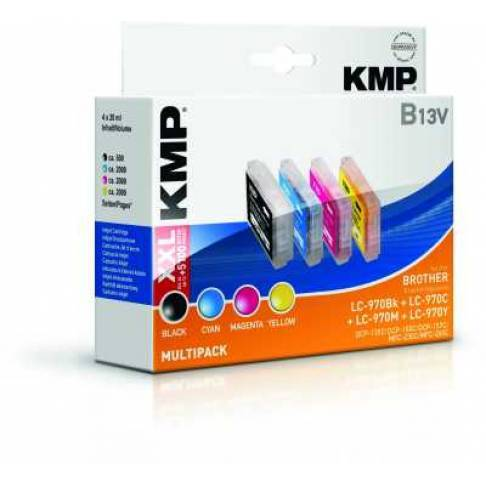 Tinte KMP/B13V/Brother Multipack LC970